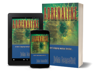 Adrenaline paperback & ebook