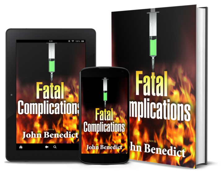 Fatal Complications - Hardback, Ebook & Audible