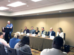 John Benedict MD on the Medical Panel at ThrillerFest NYC 2016